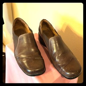 Naturalizer Leather Loafer Shoes